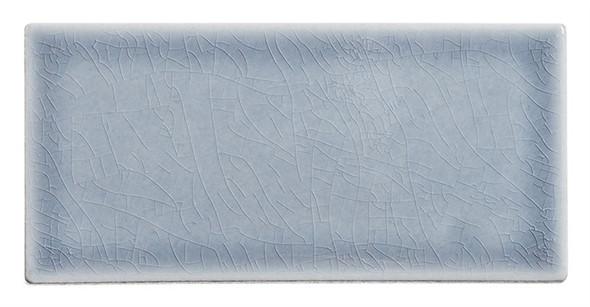 Lumiere - LMR-8526 Eifel Grey - 3X6 Subway Brick Crackle Glaze Porcelain - Bullnose Trim Tile