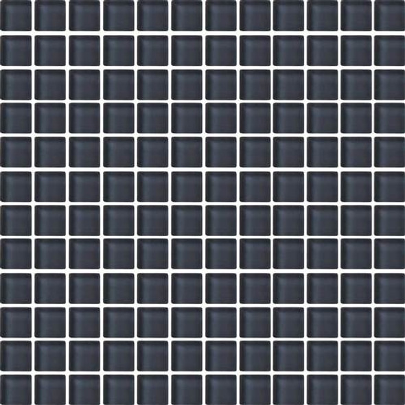 Supplier: Daltile, Series: Color Wave, Name: CW19 Nine Iron - Glossy, Category: Glass Tile, Size: 1 X 1