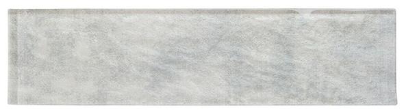 Velvet Glaze - VGL-521 Mint Frost - 3X12 Subway Brick Undulated Glass Tile - Sample