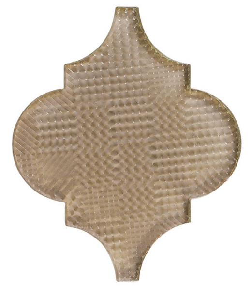 Glazzio Arabesque Glass Tile - Versailles VS-418TEXTURED Garden Statue - Moroccan Style Glass - Gloss Textured