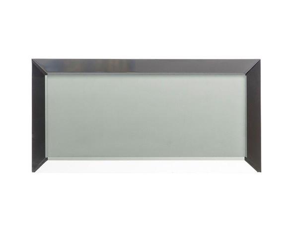 Mystique MQS-366 Ice Castle - 3 X 6 Beveled Mirror Glass Subway Brick Tile - Sample