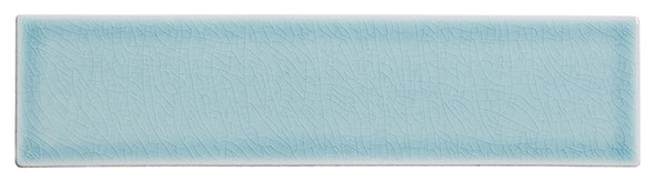 Lumiere - LMR-8534 Marseille Aqua - 3X12 Subway Brick Crackle Glaze Porcelain Decorative Tile