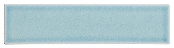 Lumiere - LMR-8534 Marseille Aqua - 3X12 Subway Brick Crackle Glaze Porcelain Decorative Tile