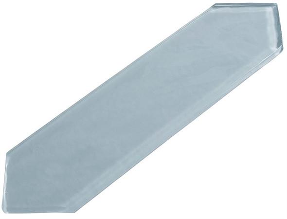 Aristocrat Harbor - ACRT 294 Jockey Run - 3 X 10.5 Picket Shape Long Hex Glass Tile - Sample