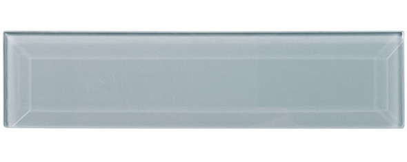 Gemstone Subway - GEM3004-SBWY Opaque Crystal - 3 X 12 Beveled Glass Plank Brick Subway Tile