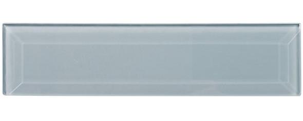 Gemstone Subway - GEM3004-SBWY Opaque Crystal - 3 X 12 Beveled Glass Plank Brick Subway Tile - Sample