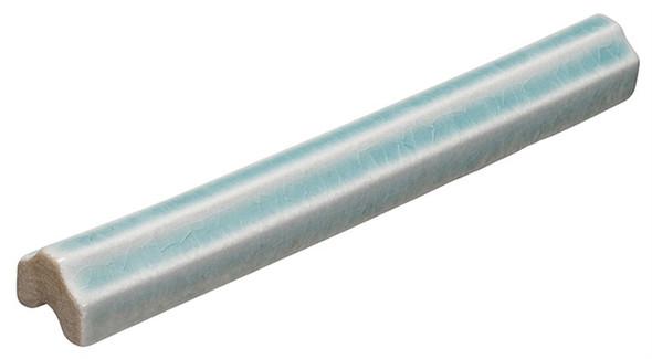 Lumiere - LMRM-8544 Marseille Aqua - 3/4X6 Crackle Glaze Porcelain - Profile Liner