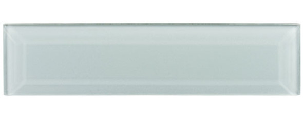 Gemstone Subway - GEM3007-SBWY Bahama Quartz - 3 X 12 Beveled Glass Plank Brick Subway Tile