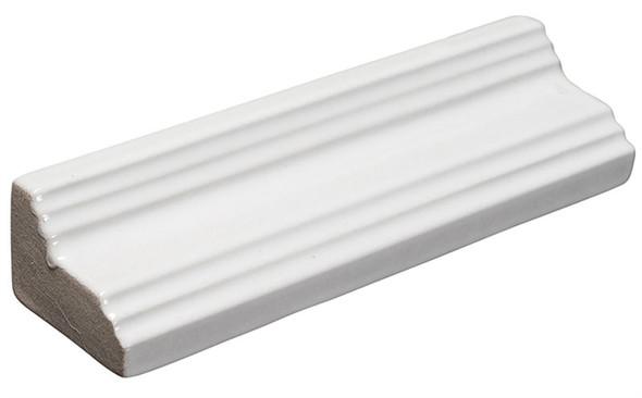 Lumiere - LMRM-8557 Mountain Peake - 1-1/2 X 6 Glaze Porcelain - Chair Rail