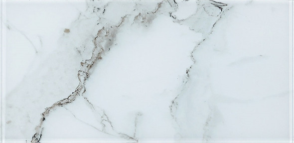 Yosemite - YSM 086 Vernal Falls - 9 X 18 Subway Rectangle Brick Shape Glass Tile