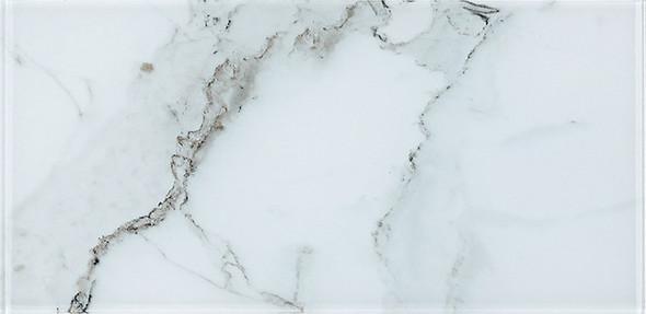 Yosemite - YSM 086 Vernal Falls - 9 X 18 Subway Rectangle Brick Shape Glass Tile - Sample