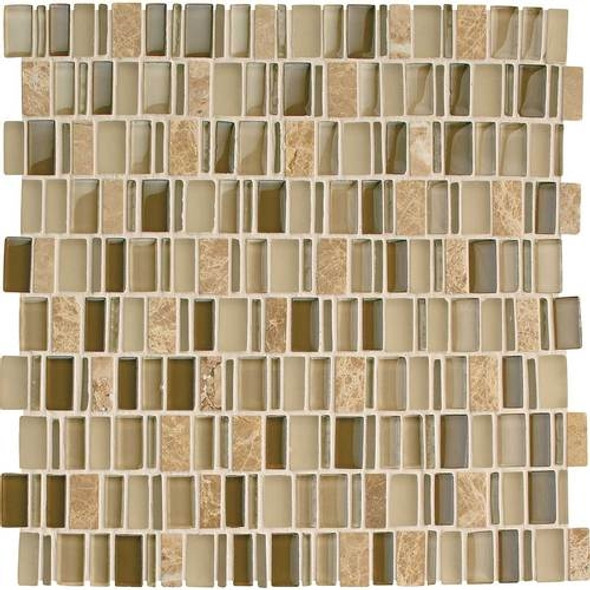 Supplier: Daltile, Series: Clio, Name: CL16 Selene, Category: Glass Tile, Size: Multi