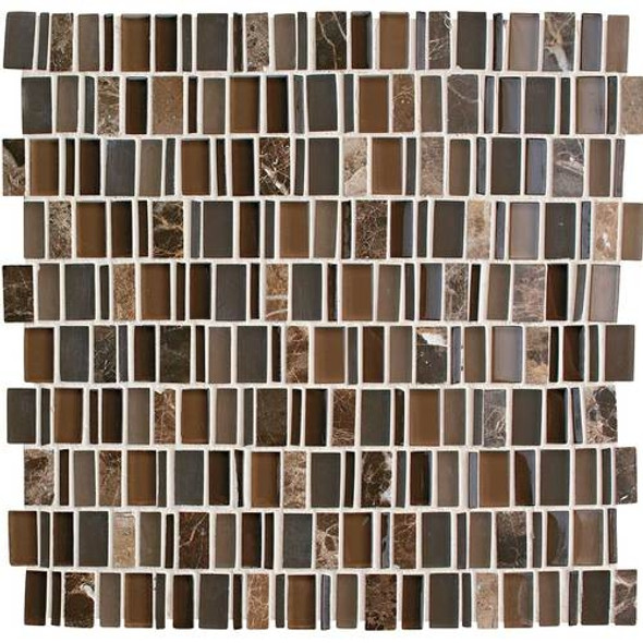 Supplier: Daltile, Series: Clio, Name: CL17 Eos, Category: Glass Tile, Size: Multi