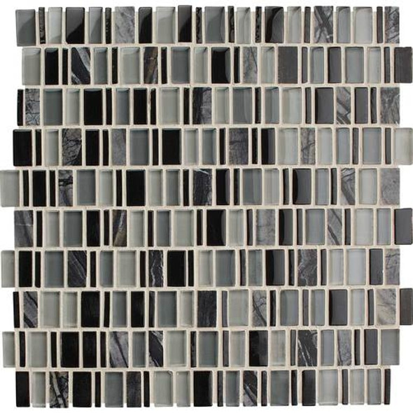 Supplier: Daltile, Series: Clio, Name: CL18 Boreas, Category: Glass Tile, Size: Multi