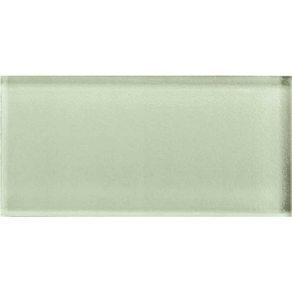 Supplier: American Olean, Series: Color Appeal Glass, Name: C112 Celedon - Glossy, Type: Brick Subway Glass Tile, Size: 3X6