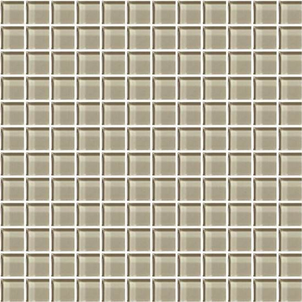 Supplier: American Olean, Series: Color Appeal Glass, Name: C103 Oxford Tan - Glossy, Type: Glass Tile Mosaic, Size: 1X1