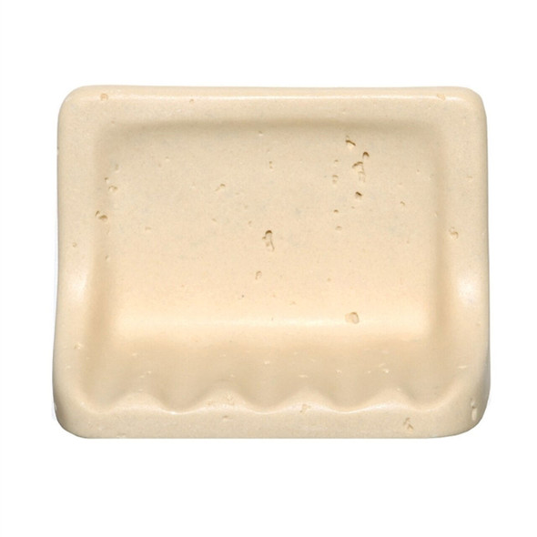 Resin Travertine - Soap Dish - Fauxstone NAT91SD - Light Classico Color
