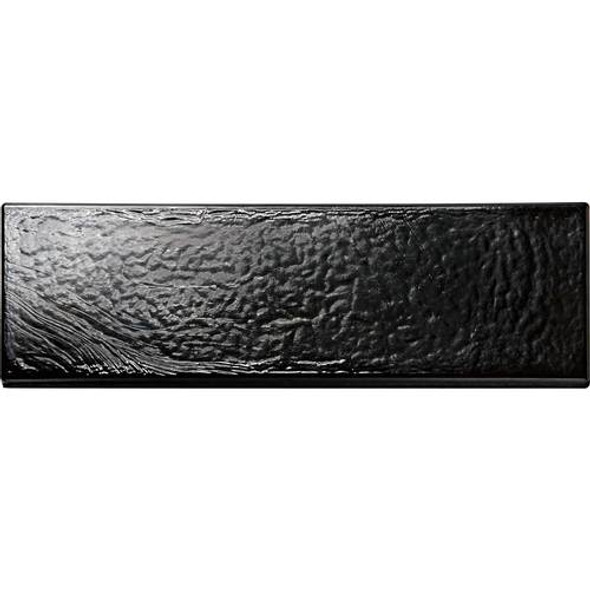Supplier: Daltile with Oceanside Glass, Series: Glass Horizions, Name: GH09, Color: Black Sand, Type: Glass Tile Brick Subway, Price: $5.99, Size: 2X8