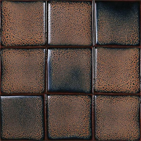 Bristol Studios - Cosmic - G2247 Comet - 4X4 Handcrafted Decorative Tile - Sample