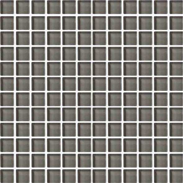 Daltile Color Wave Glass - CW09 Kinetic Khaki - 1 X 1 Dal Tile Glass Tile - Glossy - Sample