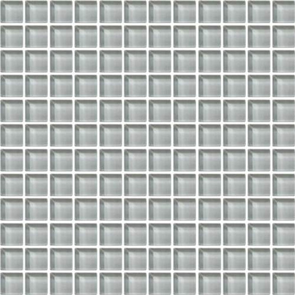 Supplier: Daltile, Series: Color Wave, Name: CW03 Powder Puff - Glossy, Category: Glass Tile, Size: 1 X 1