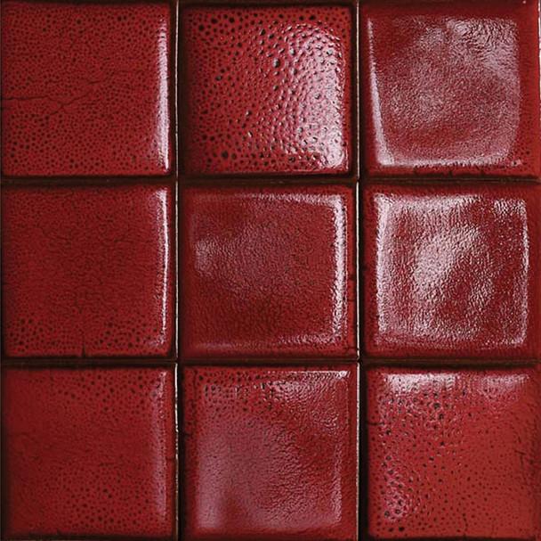 Bristol Studios - Cosmic - G2268 Mars - 4X4 Handcrafted Decorative Tile - $7.99