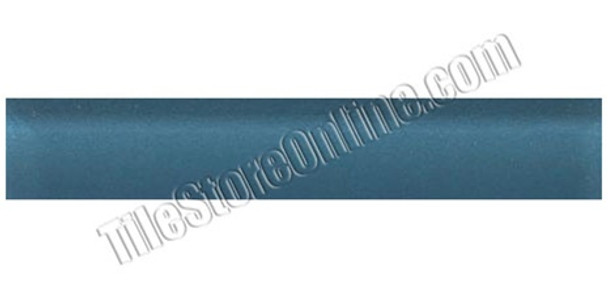 Supplier: Daltile, Type: Glass Tile Liner, Series: Glass Reflections, Name: GR04 Twilight Blue - Glossy, Color: Twilight Blue, Category: Glass Tile Liners, Size: 1 X 6
