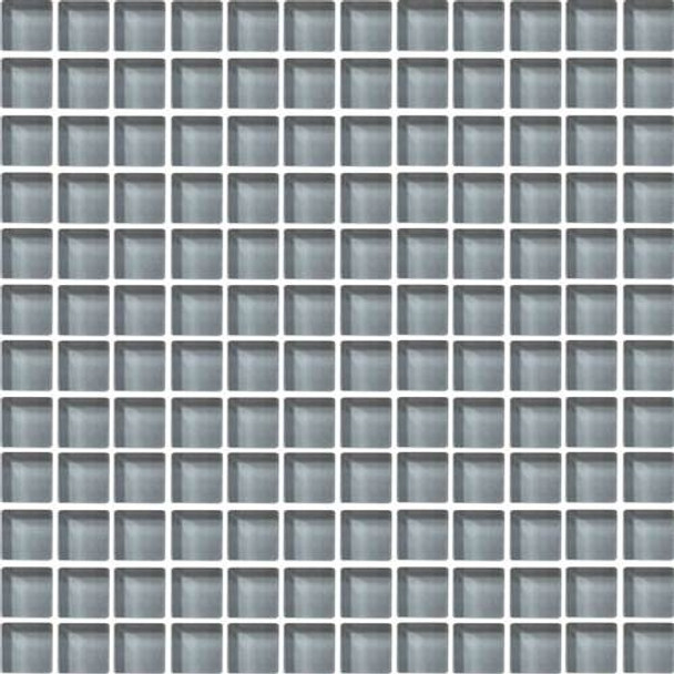 Supplier: Daltile, Series: Color Wave, Name: CW17 Smoked Pearl - Glossy, Category: Glass Tile, Size: 1 X 1