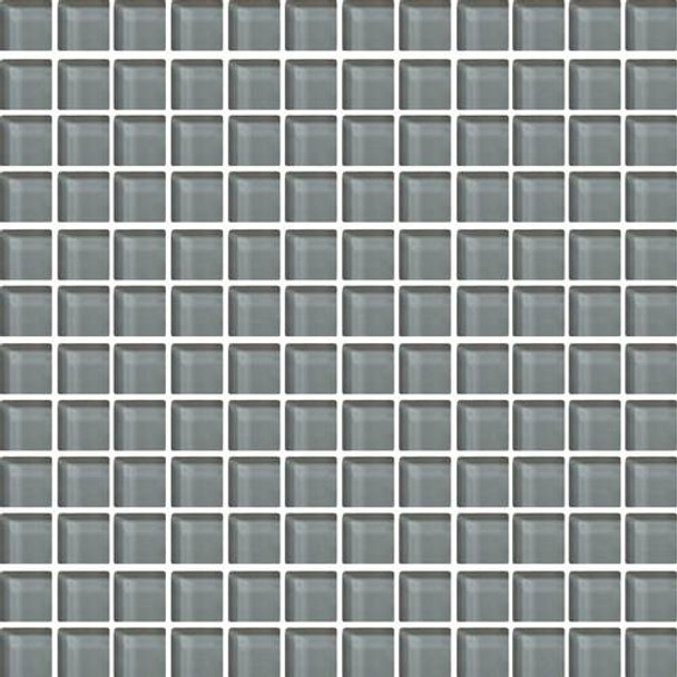 Daltile Color Wave Glass - CW18 Top Hat - 1 X 1 Dal Tile Glass Tile - Glossy - Sample