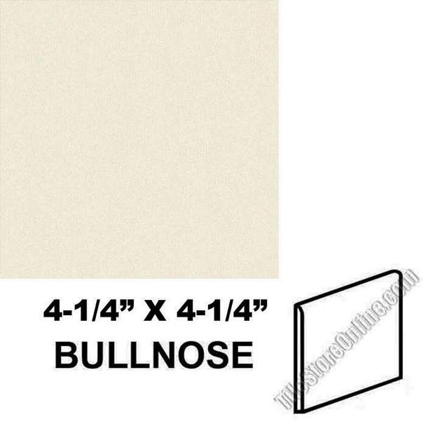"Supplier: Daltile, Type: Glazed Ceramic Tile Accessory Trim Tile, Series: Semi Gloss Bullnose, Name: 0135 S4449, Color: Almond, Category: Ceramic Tile, Price: $.99, Size:4.25""X4.25"""
