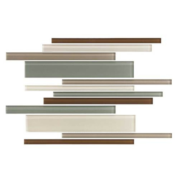 Supplier: Daltile, Series: Color Wave, Name: CW24 Sweet Escape - Glossy, Category: Glass Tile, Size: Random