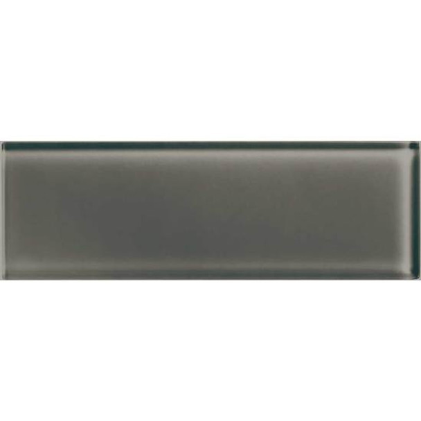 American Olean Color Appeal Glass - C119 Mink - 4X12 Subway Glass Tile Plank - Glossy - Sample