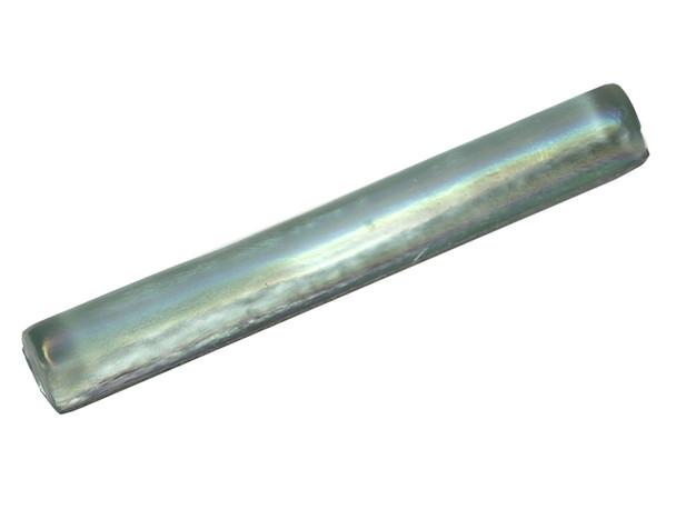 American Olean Candalara Glass - CL50 Glacier Mist - 1 X 8 Torello Dome Liner - Oceanside Glass Iridescent