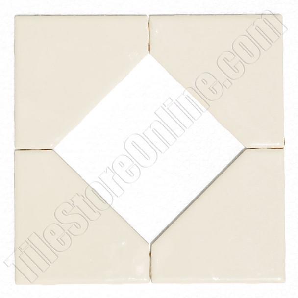 "Supplier: Daltile, Type: Glazed Ceramic Tile Decorative Tile, Series: Semi Gloss Liner Border, Name: FA5213588DIA1P2, Color: Almond, Category: Ceramic Tile, Price: $3.99, Size: 8.5""X8.5"""