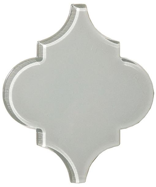 Supplier: Tile Store Online, Name: Versailles VS-417, Color: Foggy Meadow, Type: Arabesque Glass Tile, Size: 5X6