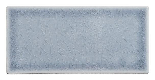 Lumiere - LMR-8526 Eifel Grey - 3X6 Subway Brick Crackle Glaze Porcelain Decorative Tile