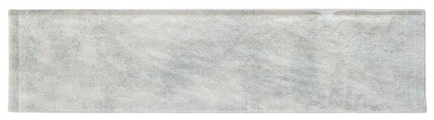 Velvet Glaze - VGL-521 Mint Frost - 3X12 Subway Brick Undulated Glass Tile