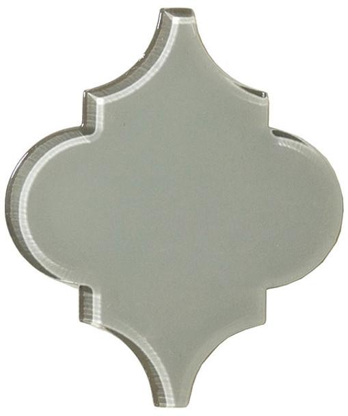 Supplier: Tile Store Online, Name: Versailles VS-419, Color: Fountain Grey, Type: Arabesque Glass Tile, Size: 5X6