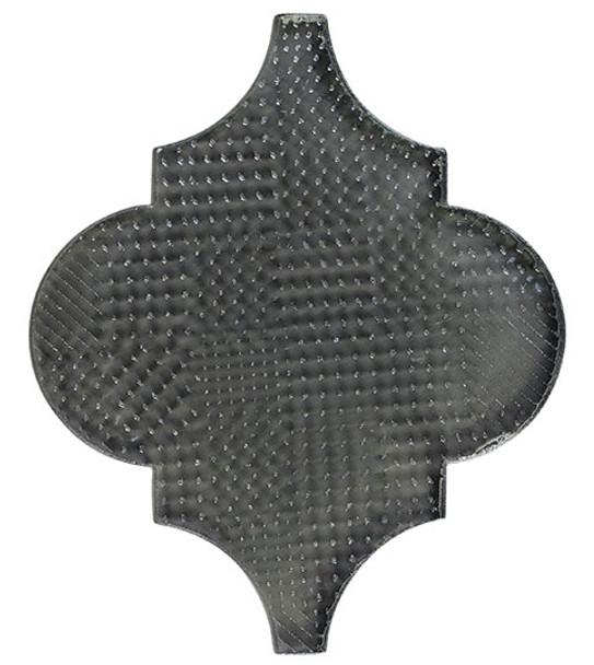 Glazzio Arabesque Glass Tile - Versailles VS-420TEXTURED Smokey Road - Moroccan Style Glass - Gloss Textured