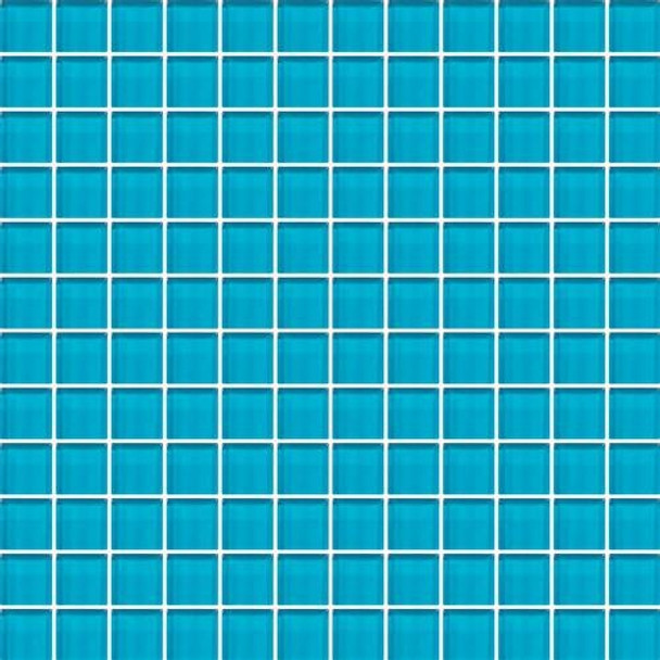 Supplier: Daltile, Series: Color Wave, Name: CW32 Capri Breeze - Glossy, Category: Glass Tile, Size: 1 X 1