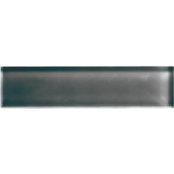 Supplier: American Olean, Series: Color Appeal Glass, Name: C121 Charcoal Gray - Glossy, Type: Glass Tile Mosaic, Size: 2X8