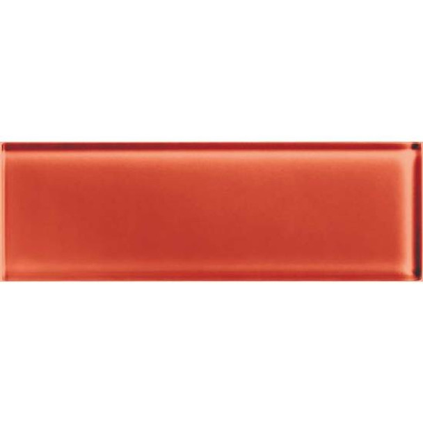Supplier: American Olean, Series: Color Appeal Glass, Name: C116 Auburn - Glossy, Type: Brick Subway Glass Tile, Size: 4X12