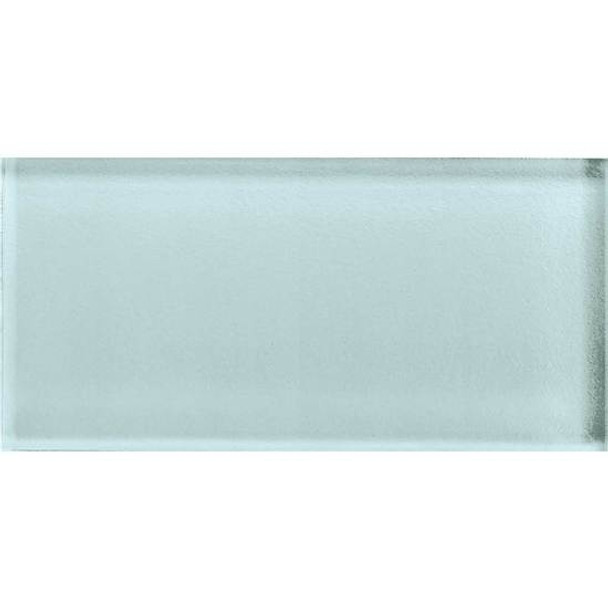 Supplier: American Olean, Series: Color Appeal Glass, Name: C106 Moonlight - Glossy, Type: Brick Subway Glass Tile, Size: 3X6