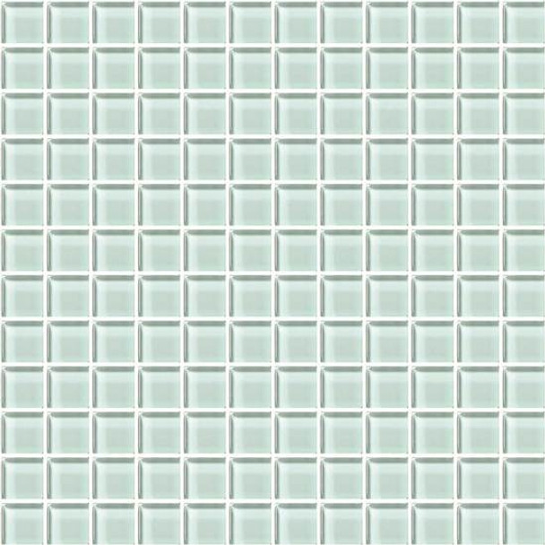 Supplier: American Olean, Series: Color Appeal Glass, Name: C107 Vintage Mint - Glossy, Type: Glass Tile Mosaic, Size: 1X1