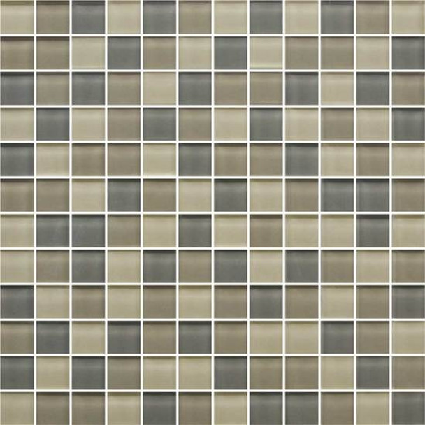 Supplier: American Olean, Series: Color Appeal Glass, Name: C133 Sand Storm Blend - Glossy, Type: Glass Tile Mosaic, Size: 1X1