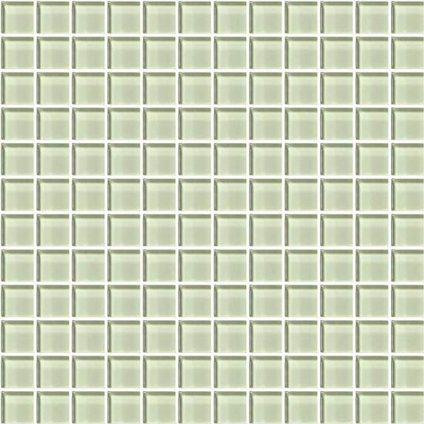 Supplier: American Olean, Series: Color Appeal Glass, Name: C112 Celedon - Glossy, Type: Glass Tile Mosaic, Size: 1X1