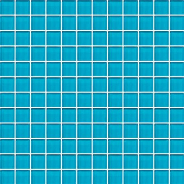Supplier: American Olean, Series: Color Appeal Vibrant Glass, Name: C125 Hawaiian Ocean - Glossy, Type: Glass Tile Mosaic, Size: 1X1