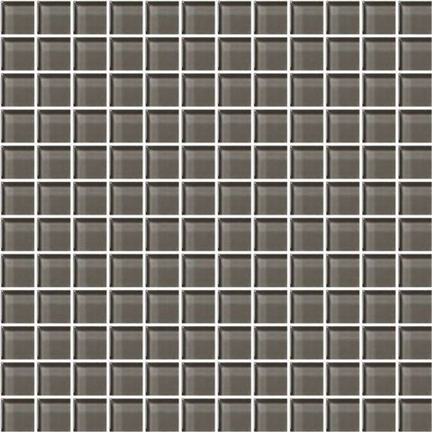 Supplier: American Olean, Series: Color Appeal Glass, Name: C119 Mink - Glossy, Type: Glass Tile Mosaic, Size: 1X1