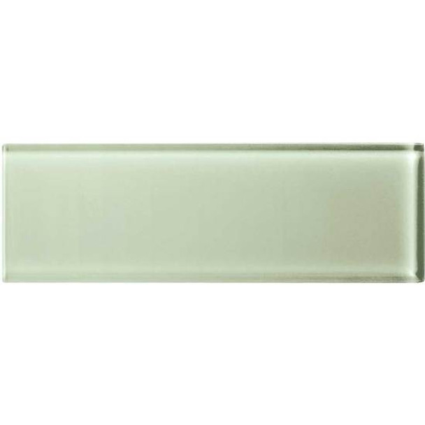 Supplier: American Olean, Series: Color Appeal Glass, Name: C112 Celedon - Glossy, Type: Brick Subway Glass Tile, Size: 4X12