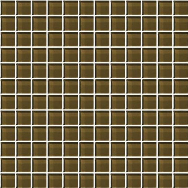 Supplier: American Olean, Series: Color Appeal Glass, Name: C113 Sable - Glossy, Type: Glass Tile Mosaic, Size: 1X1